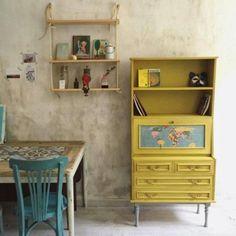 Mueble pintado en Amarillo Tostado de Autentico chalk paint por @hadasycuscus #autenticopaintspain #autenticochalkpaint #chalkpaintes #autenticospain #autenticopaint #pinturanatural #ecofriendly #naturalpaint #chalkpaint