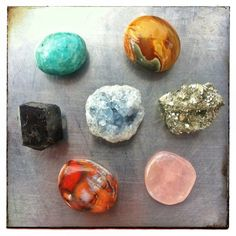 7 healing crystals for modern ailments and how to use them / Sacred Spaces <3