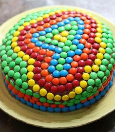 Could be cute with other shapes and holiday M&Ms. 17 Apart: Kids' Birthday Cake Idea: Decorating With M&M Could be cute with other shapes and holiday M&Ms. 17 Apart: Kids' Birthday Cake Idea: Decorating With M&M's! Bolo Nacked, Smarties Cake, Number Birthday Cakes, Number 4 Cake, Cake Birthday, Birthday Cake Decorating, Kids Birthday Decorations, Cake Decorating For Kids, Cake Decorations