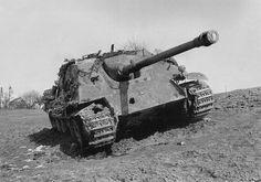 Abandoned Jagdpanther at Hargarten/Germany