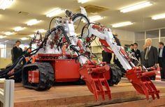 """Der Multitasking-Roboter """"Octopus"""" soll in Fukushima aufräumen Fukushima, Types Of Robots, Nuclear Disasters, New Industries, Robot Design, Save Life, Natural Disasters, Inventions, Challenges"""