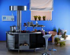 Gast-Kachelherd mit Bratrohr, Holzlade und Arbeitsfläche Bar, Table, Furniture, Home Decor, Tiling, Pipes, Homemade Home Decor, Mesas, Home Furnishings