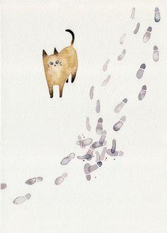 (via Curiosity Killed the Cat – SHU OKADA's Illustration Blog)