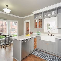 beautifully remodeled kitchen by Properties NW broker and renovation expert Jeff Krause