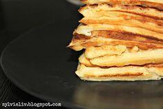 Sylvie Liv: Sunday Morning Brunch Waffle Recipe