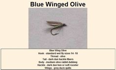 Blue Winged Olive - Wet