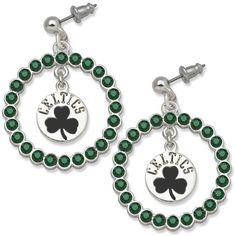 Boston Celtics Spirit Earring #celtics