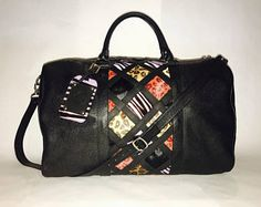Browse unique items from SebastianGreyDesign on Etsy, a global marketplace of handmade, vintage and creative goods. Anaconda, Bag Men, Gym Bag, Bags, Etsy, Vintage, Black, Bags For Men, Handbags
