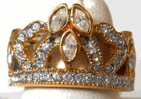Crown Ring Sample 2 - Size 9 Crown Rings, Gold Rings, Rose Gold, Jewelry, Design, Women, Jewlery, Bijoux, Women's