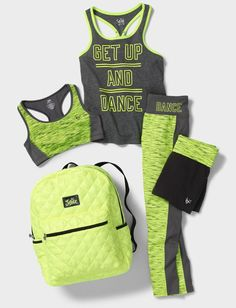 Get t justice outfits, justice girls clothes, girls sports clothes, gymnast Justice Girls Clothes, Justice Clothing, Justice Outfits, Tween Clothing, Clothing Styles, Teenager Outfits, Outfits For Teens, Sporty Outfits, Athletic Outfits