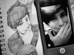 SO BEAUTIPHIL<<<<HOW CAN PEOPLE DRAW SO GOODLY(well)?????☹️☹️