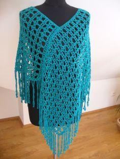 pončo Crochet Top, Cover Up, Tops, Dresses, Women, Fashion, Gowns, Moda, Women's