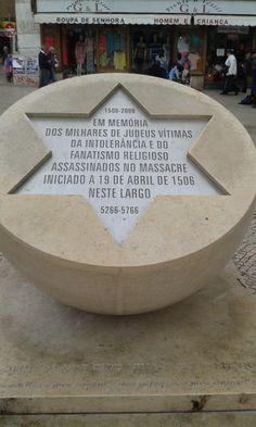 MEMORIAL AOS JUDEUS NO LARGO DE SÃO DOMINGOS