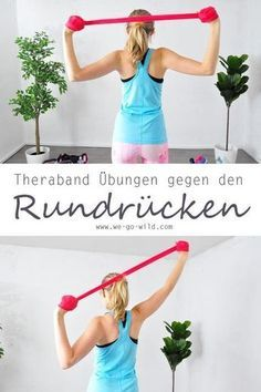 17 exercises against hunchback - effective hyperkyphosis workout - Gesundheit - health & fitness Fitness Workouts, Ace Fitness, Planet Fitness Workout, Easy Workouts, Yoga Fitness, At Home Workouts, Health Fitness, Mens Fitness, Fitness Hacks
