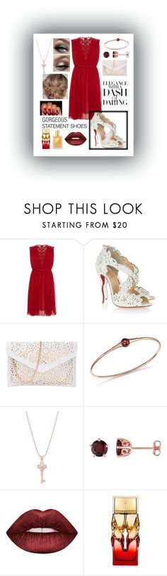 """White Louboutin Shoes 👠"" by snowflakeunique ❤ liked on Polyvore featuring Etro, Christian Louboutin, Pomellato, Belk Silverworks, Laura Ashley, Lime Crime, Tom Ford, white, Louboutin and statementshoes"