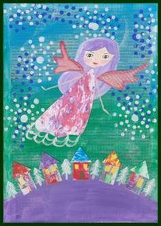 Vánoční anděl Art Education, Tinkerbell, Art For Kids, Disney Characters, Fictional Characters, Disney Princess, Children, Crafts, Desserts