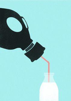 Des illustrations pleines de sens qui montrent comment nous détruisons la planète au quotidien