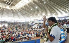 #Bolivia Informa: #Evo: #MAS, la fuerza política más grande de la historia - #Política #Historia