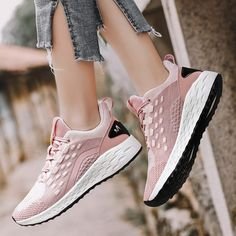 Fashion Lady Women Shoes Sneakers Flying Woven Breathable Resistant Cushion Sneakers Personality Chaussure Homme#3 Price: 18.82 & FREE Shipping #styles #me #heels #pink #instafashion #hair #purse #nails #eyes High Top Wedge Sneakers, Work Sneakers, Casual Sneakers, Womens Fashion Sneakers, Fashion Shoes, Sports Footwear, Sports Shoes, Top Running Shoes, Comfortable Work Shoes