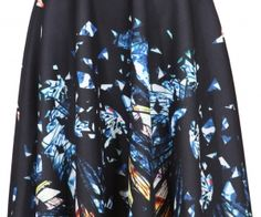 Black Geometric Print Pleated Midi Skirt. Fashion : Bottoms : Skirts Black Geometric Print Pleated Midi Skirt - See more at: http://spenditonthis.com/cat-13-fashion-newest.html#sthash.2rxDuP3D.dpuf