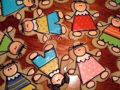 Detalle galletas para el Día del Maestro encargadas por el Colegio San Bartolomé La Merced