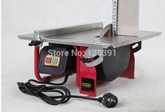 Promotion sale of Copper 7-inch table saw small stone woodworking saws/adjustable height and angle electric saws miter saw blade #Affiliate