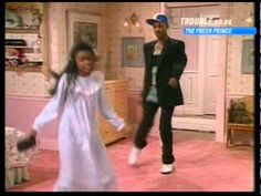 Best Fresh Prince of Bel-Air Moment - Will and Ashley Dance (end of season 1, episode 1)