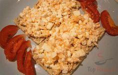 Výborný je i na pomazánky. Snack Recipes, Healthy Recipes, Snacks, Tzatziki, Cottage Cheese, Fried Rice, Pesto, Dips, Food And Drink