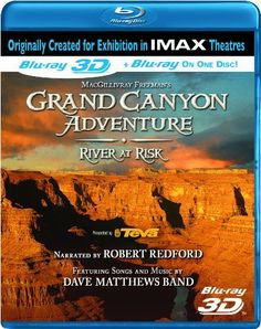 Grand Canyon Adventure - River at Risk (IMAX) (3D)  (Bilingual) [Blu-ray] Blu-ray ~ Robert Redford, http://www.amazon.ca/dp/B003Z2LAAO/ref=cm_sw_r_pi_dp_kJQBtb0BS2QRS