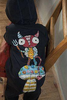 Detské oblečenie - ČertíkOVERAL - 7197084_