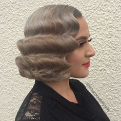 WEBSTA @ missrockabillyruby - Do you want to learn how to do perfect vintage waves?! You better make it to one of my upcoming vintage hairstyling classes, NYC June 17th and Denver July 2nd! All info and tickets- brownpapertickets.com search:missrockabillyruby  I also have a few spots open for one-one-one vintage hairstyling classes in LA for June and July, email for private class info missrockabillyruby@gmail.com  Swipe to see the back look of this style! #missrockabillyruby #hairbym