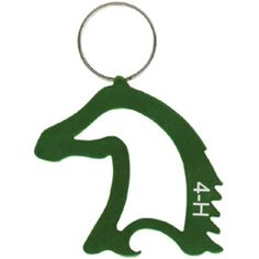 4-hmall.org - Product: 4-H Horse Head Shaped Key Ring