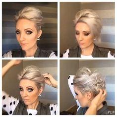 953 Likes, 41 Comments - Arizona Hairstylist ( on Instagra. Short Hair Dos, Short Hair Styles, Corte Y Color, Hair Affair, Great Hair, Hair Today, Pretty Hairstyles, Hair Looks, Hair Trends