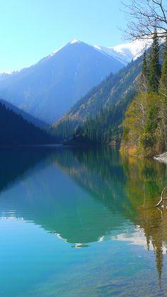 Kolsai Lake 2 Kazakhstan, Mountains, Nature, Travel, Naturaleza, Viajes, Trips, Nature Illustration, Outdoors