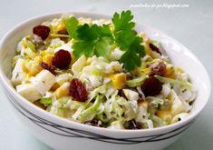 Raw Food Recipes, Pasta Salad, Potato Salad, Potatoes, Cooking, Ethnic Recipes, Crab Pasta Salad, Kitchen, Raw Recipes
