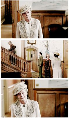 Downton Abbey Season 6 ..Can we just take a moment to appreciate this moment for Violet? ..