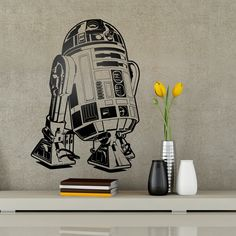Star Wars: R2-D2 Wall Decal
