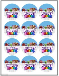 1st Birthday Themes, Baby First Birthday, Birthday Party Decorations, Birthday Parties, Muppet Babies, Rice Krispies, Oreo, Frosting Colors, Baby Shower Candy