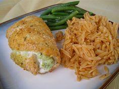 Stephanie Cooks: Zucchini Stuffed Chicken