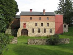 """Fabulous """"Gault Barn"""" in Westpoint, CT. is very famous and well preserved."""
