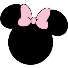 Montando minha festa: Minnie rosa e preto