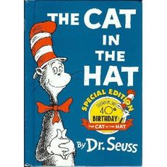 """One of Dr. Seuss's most famous! I have the first book almost memorized I've read it so many times (there are 2)! Depending on your child's reading prowess, 2nd-3rd grade reader. An important discussion point can be where the book ends, """"what would you do if your mother asked you?"""" (Do we keep secrets from Mom & Dad?) This book is so fun!"""