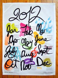 2012 Tea Towel by Avril Loreti $25
