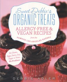 @Vedged Out Giveaway! @Sweet Debbie's Sweet Debbie's Allergy-free & Vegan Treats Cookbook http://wp.me/p2rrEn-1bt Sweet Debbie's Organic Treats. Allergy-Free and Vegan Recipes from the Famous Los Angeles Bakery. Plus, Sunflower Buttercup Brownies. Vedged...