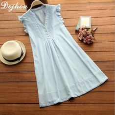 2017 new summer sleeveless dress pregnant dresses maternity clothes for pregnant women denim color dress for pregnant pregnant Maternity Dress Pattern, Maternity Dresses Summer, Maternity Fashion, Blouse Dress, Jeans Dress, Dresses For Pregnant Women, Clothes For Women, Light Blue Dresses, Vestido Casual