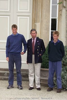 7/26/1999: Highgrove House, with Prince Charles & Prince Harry (Doughton, Gloucestershire)