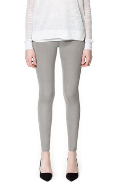 TROUSERS WITH WIDE SEAM DETAIL - Trousers - Woman | ZARA United States $79.90 onsale for $39.99