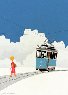 Illustrations by Japanese Illustrator Ryo Takemasa