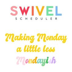 Better planning for SLPs with Swivel Scheduler!