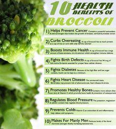 10 Health Benefits of Broccoli #draxe #nutrition